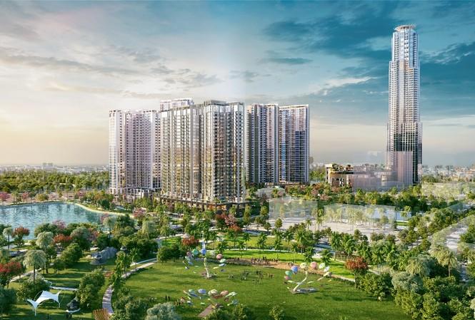 Tòa căn hộ HR3 sở hữu vị trí đắc địa giữa lòng 2 công viên Eco Green Central Park 3.5ha và công viên Hương Tràm 22ha.