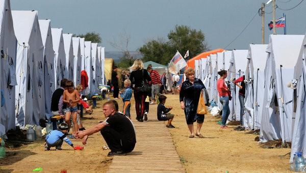 Gần 57.000 người Ukraine hiện đang sống trong trại tị nạn ở Nga