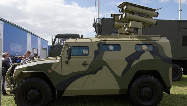 Kornet-D tại triển lãm hàng không MAKS Zhukovsky