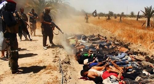 IS hành quyết tập thể hàng trăm người ở Iraq