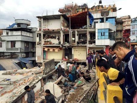 Khoảng 1500 người đã thiệt mạng trong trận động đất kinh hoàng ở Nepal.