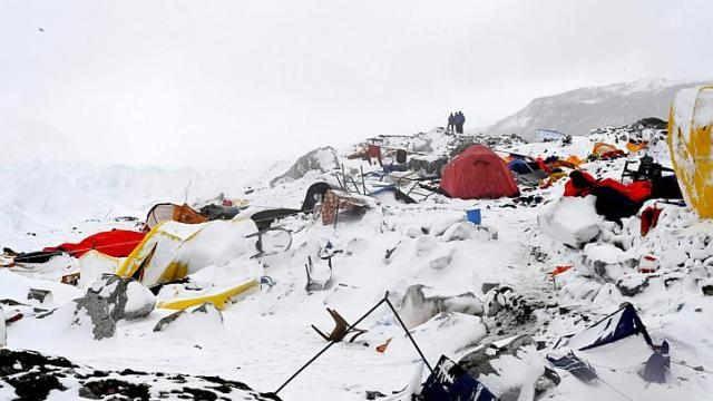 Lời kể hãi hùng của người sống sót vụ lở tuyết trên đỉnh Everest
