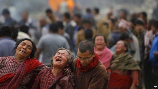 Tang thương bao trùm đất nước Nepal.