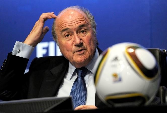 Chủ tịch đương nhiệm FIFA Sepp Blatter.