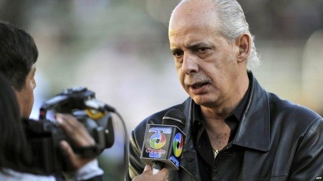 Chủ tịch Liên đoàn bóng đá Bolivia (FBF) Carlos Chávez