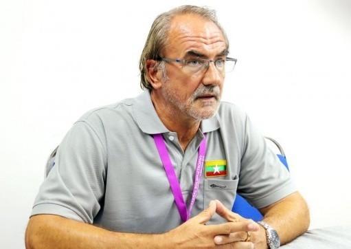HLV đội tuyển Myanmar Gerd Zeise