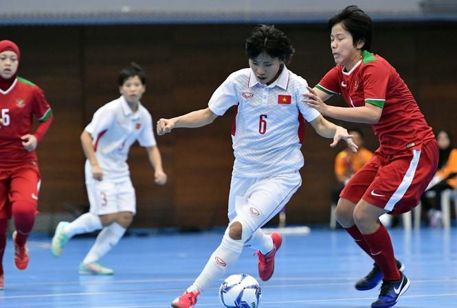 Đội tuyển futsal nữ đã hoàn thành chỉ tiêu giành HCB SEA Games 29.