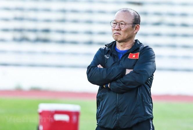 HLV Park Hang Seo được VFF tạo mọi điều kiện để làm tốt công việc chuyên môn.