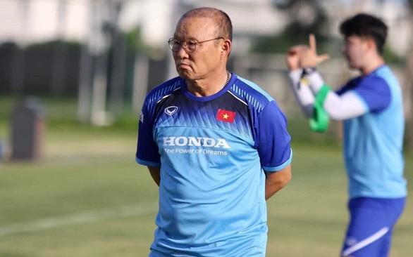 HLV Park Hang Seo hướng tới sự ổn định của đội tuyển Việt Nam khi gặp Thái Lan.