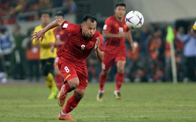 Trọng Hoàng được tin dùng ở đội tuyển Việt Nam dưới thời HLV Park Hang Seo.