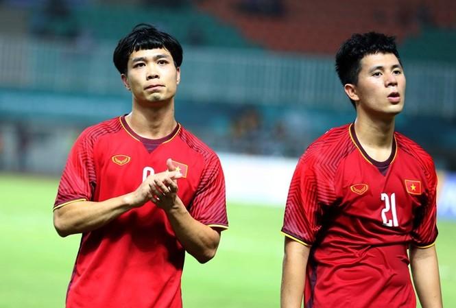 Công Phượng chưa đạt phong độ cao nhất trong màu áo tuyển Việt Nam.