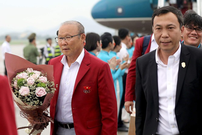 HLV Park Hang Seo nhận mức lương cao kỷ lục ở Việt Nam.