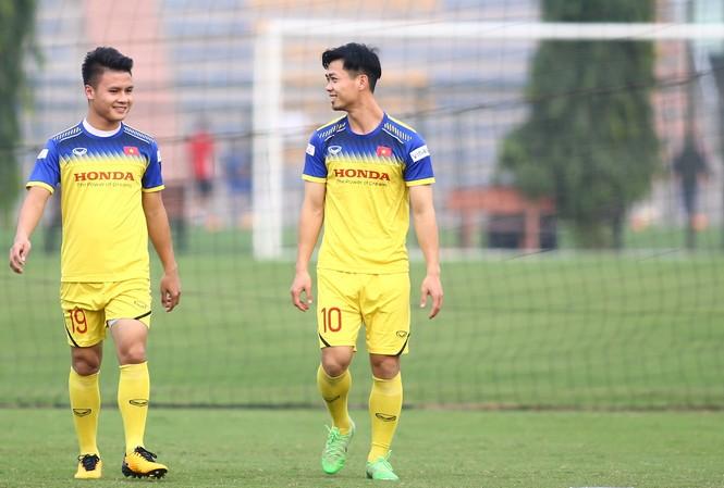 Công Phượng liệu có được HLV Park Hang Seo sử dụng ở trận đấu với UAE?