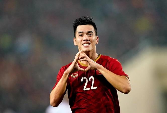 Tiến Linh ghi bàn duy nhất trong chiến thắng 1-0 của Việt Nam trước UAE.