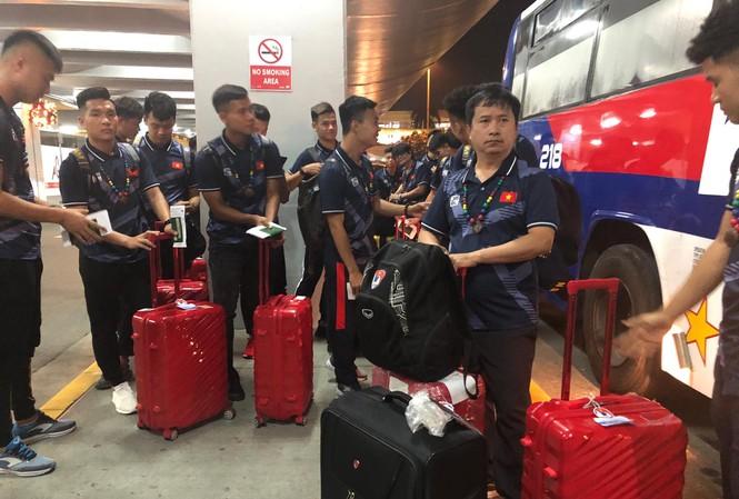 Đội tuyển U22 Việt Nam đã có mặt tại Manila, Philippines để chuẩn bị cho SEA Games 30.