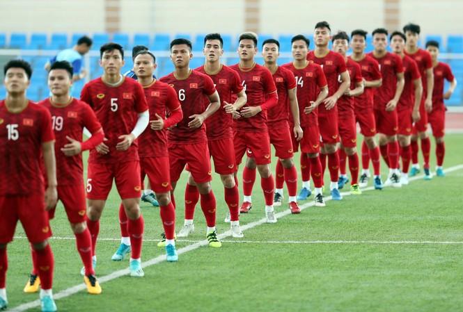 U22 Việt Nam sẽ phải đua tranh về chỉ số phụ với các đối thủ mạnh ở bảng B như Thái Lan. Ảnh: Vnexpress