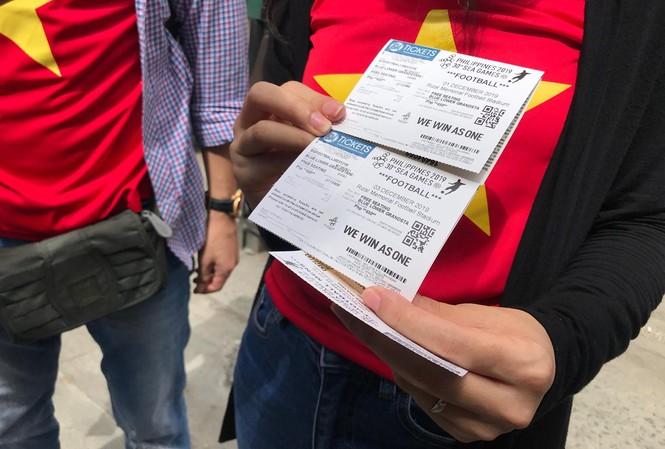Cháy vé trận U22 Việt Nam vs U22 Thái Lan ở SEA Games 30