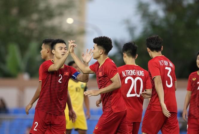 U22 Việt Nam chạy đà cho SEA Games 30 bằng chiến thắng 6-0 trước U22 Brunei.