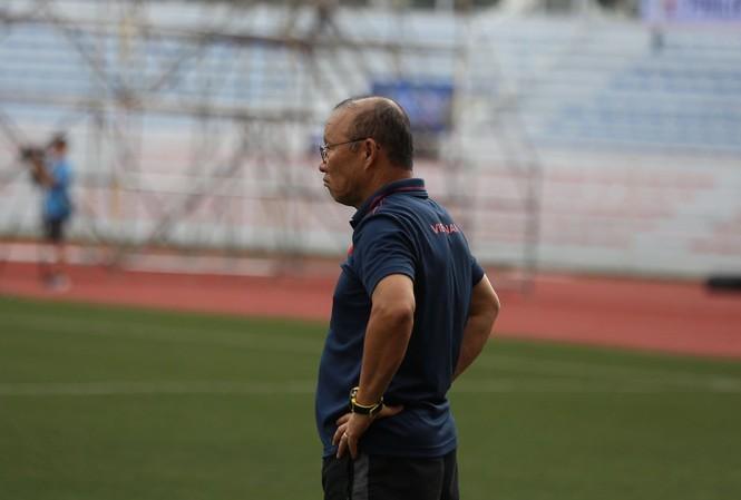 HLV Park Hang Seo chưa thấy vui dù U22 Việt Nam thắng U22 Brunei 6-0?