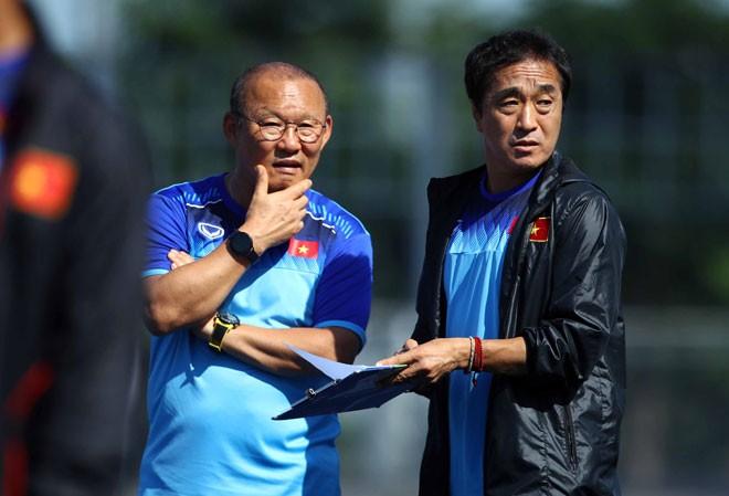 HLV Park Hang Seo sẽ có phương án để U22 Việt Nam có chiến thắng thứ 2 trước U22 Lào?