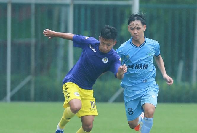 U15 Hà Nội sẽ buộc phải thắng U15 HAGL ở lượt trận cuối để giành vé đi tiếp.