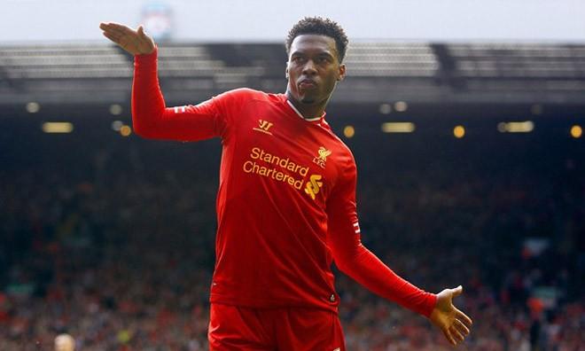 Liverpool chuẩn bị tăng lương gấp đôi cho Daniel Sturridge.