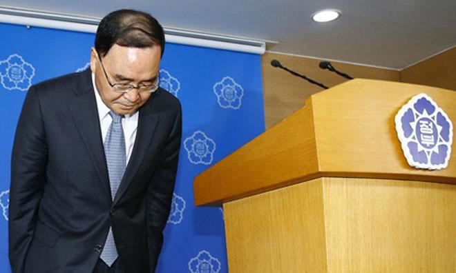 """Ông Chung Hong-won nói rằng từ chức là """"điều đúng đắn cần phải làm"""". Ảnh: BBC."""
