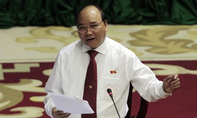Đồng chí Nguyễn Xuân Phúc-Ủy viên Bộ Chính trị - Phó Thủ tướng Chính phủ-Trưởng Ban chỉ đạo 389