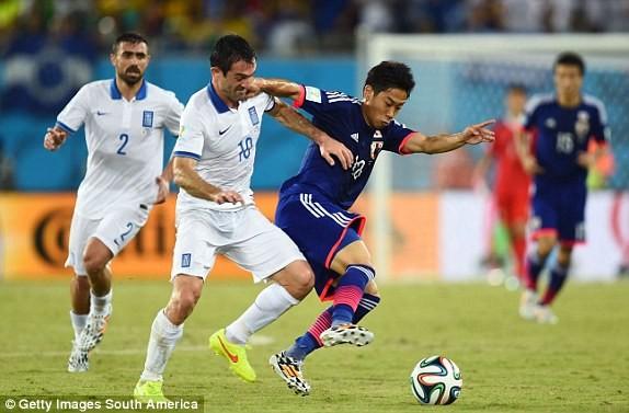 Nhật Bản-Hy Lạp (0-0): Hòa tẻ nhạt