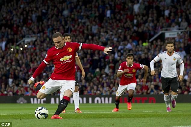 Rooney chính thức trở thành thủ quân của M.U.