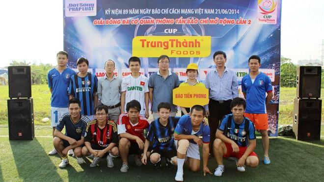 Đội Tiền Phong tham dự giải Trung Thành 2014