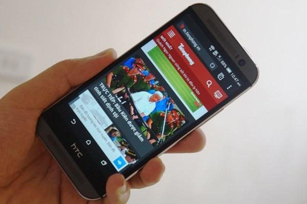 HTC One M8: Vẫn rất ấn tượng