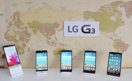 LG G3 bán ra toàn cầu vào 27/6