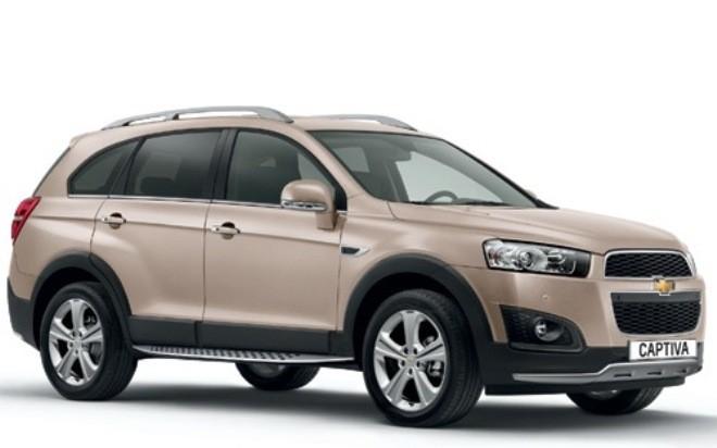Chevrolet Captiva 2014 bất ngờ ra mắt, chưa rõ mức giá