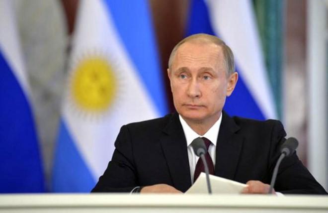 Tổng thống Nga Vladimir Putin. (Nguồn: Reuters)