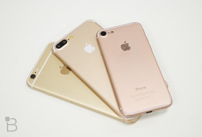 iPhone 7 thử nghiệm không khác so với những hình ảnh tin đồn