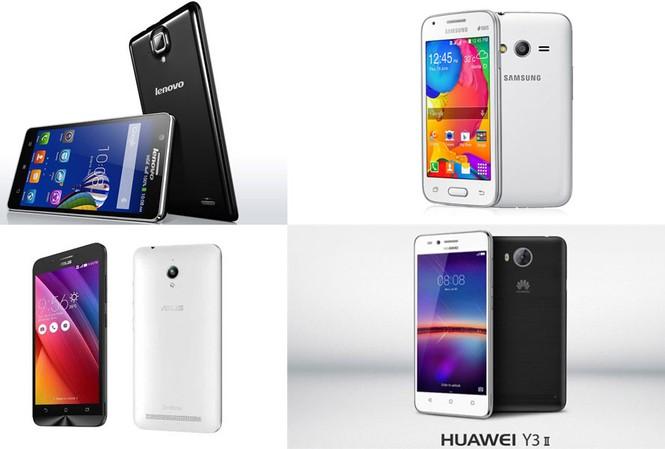 Top 5 smartphone giá dưới 2 triệu