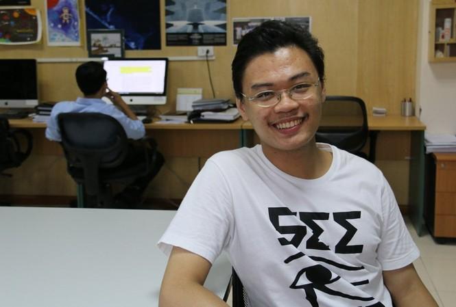 Trương Ngọc - sinh viên năm thứ 4 ngành Vũ trụ và Hàng không, ĐH Khoa học và Công nghệ Hà Nội.