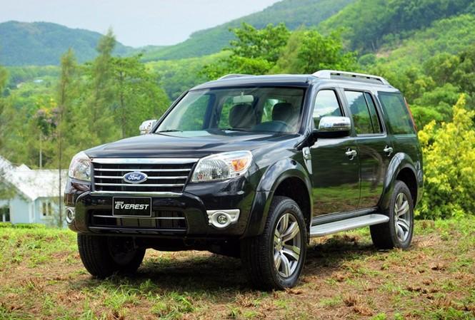 Ford Everest là một trong những dòng SUV bán chạy tại Việt Nam