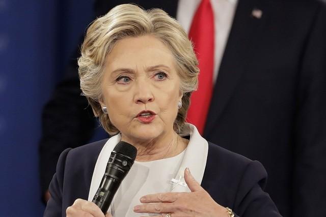 Ứng viên tổng thống đảng Dân chủ Mỹ Hillary Clinton.