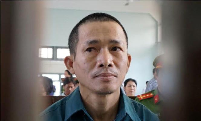 Bị cáo Nguyễn Thọ sau vành móng ngựa