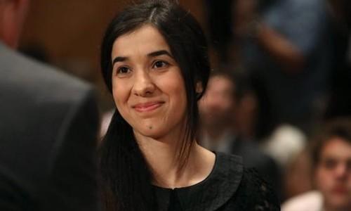 Nadia Murad. Ảnh: BBC