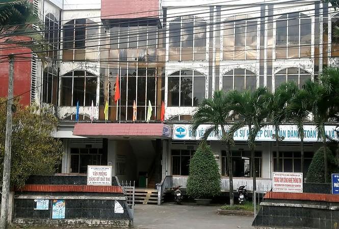 Văn phòng đăng ký đất đai Gia Lai.