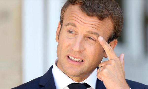 Tổng thống Pháp Emmanuel Macron tại Bulgaria ngày 25/8. Ảnh: Reuters