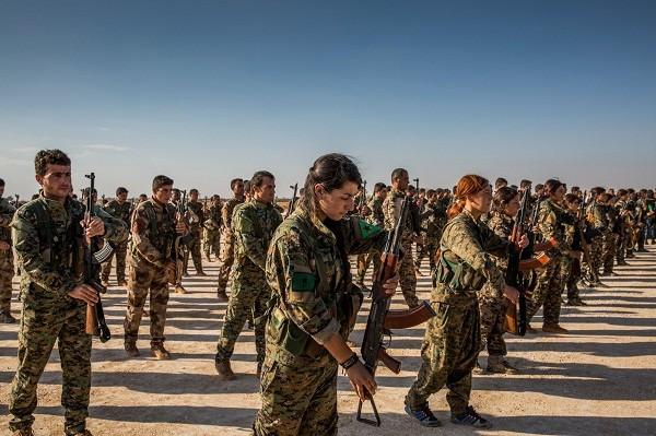Lực lượng Dân chủ Syria (SDF)