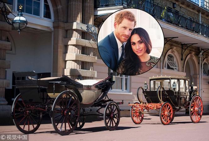 Ngắm xe ngựa cổ rước Meghan Markle - Hoàng tử Anh tới lễ đường
