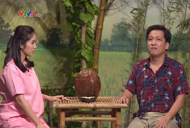 """Lê Phương mở trúng căn phòng có Trường Giang trong """"Ơn giời, cậu đây rồi""""."""