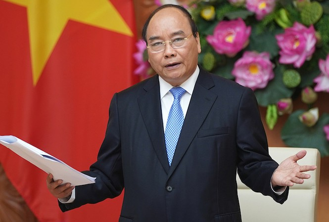 Thủ tướng Chính phủ Nguyễn Xuân Phúc.