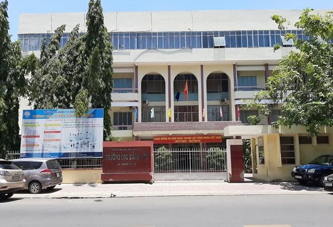 Trường Cao đẳng Y tế Khánh Hòa, nơi đang bị điều tra sai phạm. Ảnh: CAND