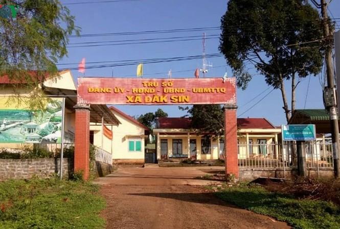 Trụ sở nơi làm việc ông Nguyễn Tiến Hùng từng công tác. Ảnh: VOV